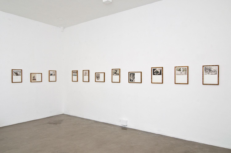 Alessandro Piangiamore | Witness of ordinary facts, 2012, MAGAZZINO, Rome. Exhibition view. Photo: Giorgio Benni
