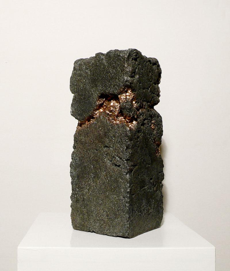 Alessandro Piangiamore | Tutto il vento che c'è (Elephanta), 2010-2011, cast bronze, cm 13x13×30.  Edition of 2 + 1 a.p.