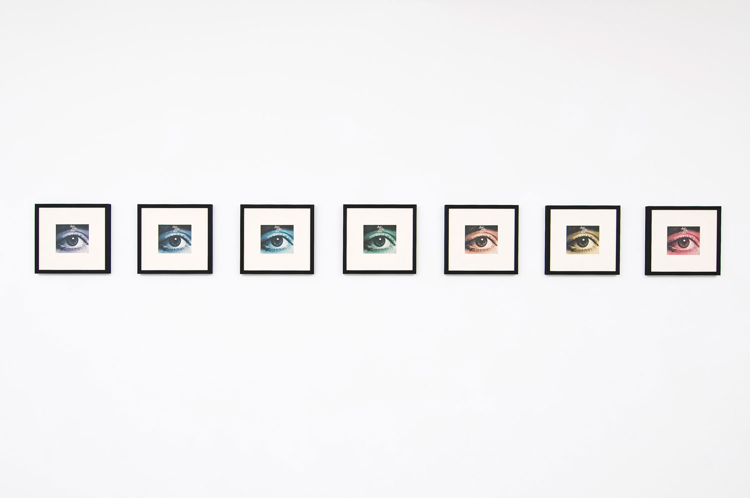Alessandro Piangiamore | due solo due, 2011, print on paper, 7 elements, cm 30 x 30 each