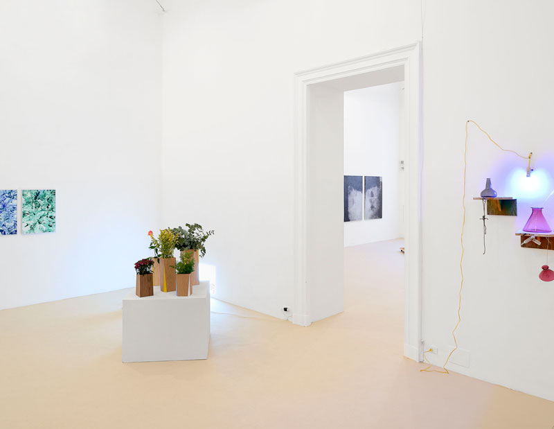 Milk Revolution, 2015. Exhibition view at American Academy in Rome. ​Photo: Roberto Apa.