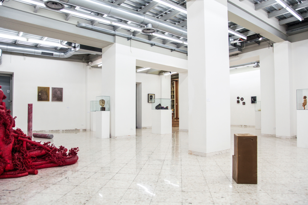 Wax, 2015. Exhibition view at Francesco Pantaleone Arte Contemporanea, Palermo. Photo: Francesco Cuttitta. Courtesy: FPAC Palermo