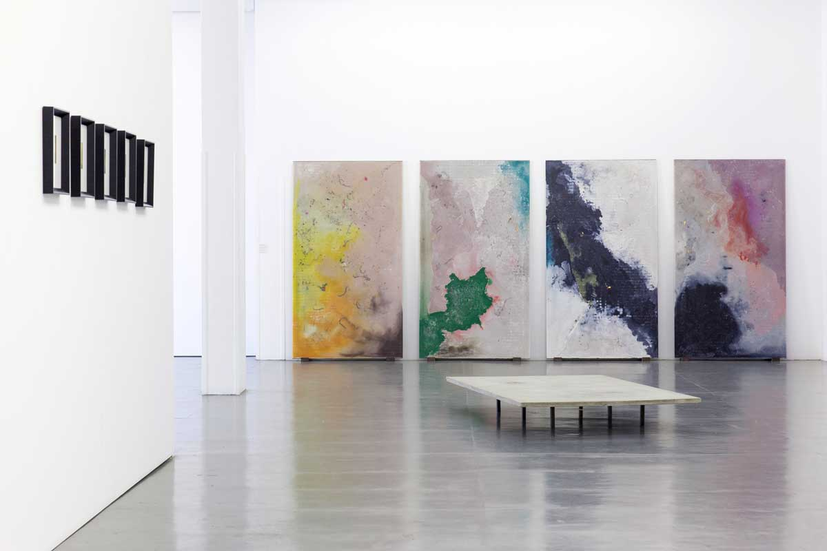 Quai, 2016. Exhibition view Galleria Giovanni Bonelli, Milan
